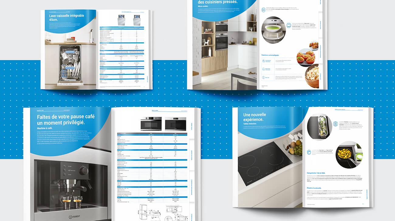 catalogues produits Whirlpool Indesit